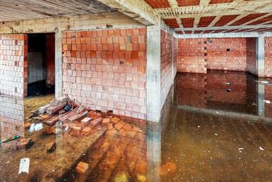 Désinfection de sous-sol après inondation