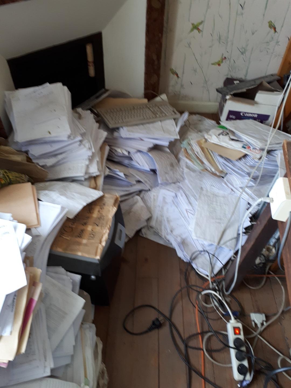Sauvetage d'archives papier après dégât des eaux